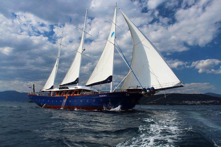 Charter a 138' gulet in Split, Croatia