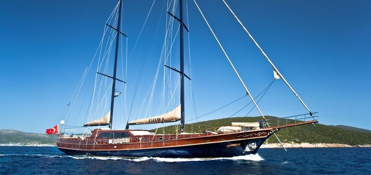 Custom's 141.07 feet in Bodrum