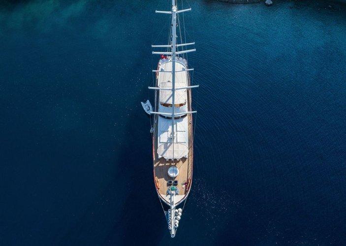 Custom's 147.63 feet in Bodrum