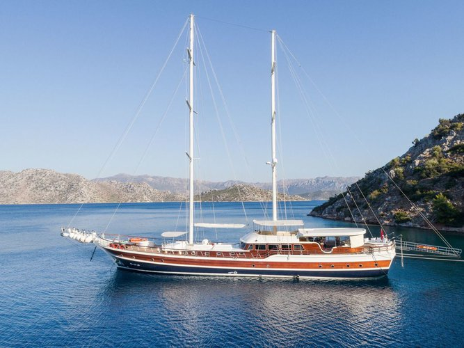 Set your dreams in motions in Turkey aboard 148' classic sailing yacht