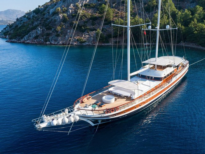 Boat for rent Custom 147.63 feet in Bodrum, Turkey