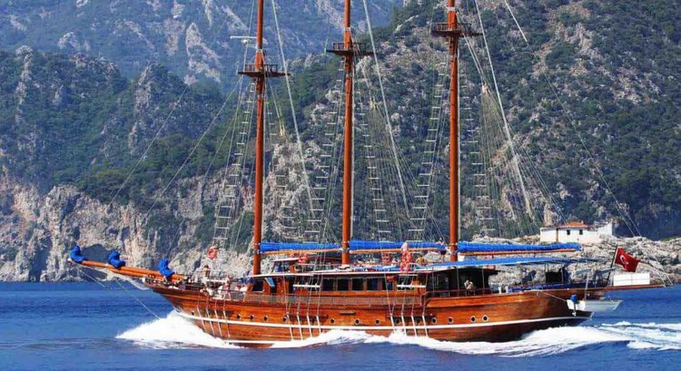 Set your dreams in motion in Marmaris, Turkey aboard 148' classic sailing yacht