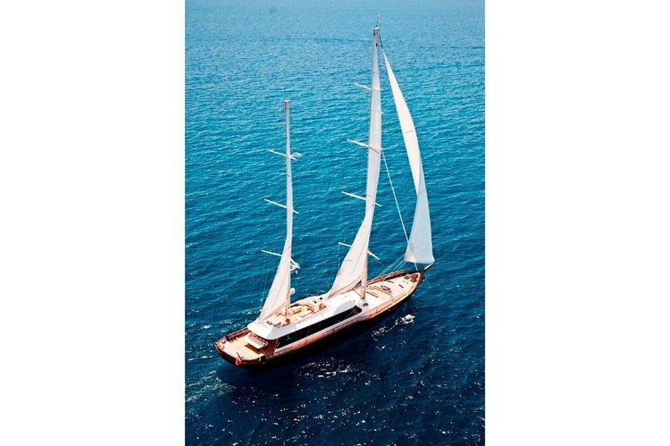 Custom's 150.91 feet in Bodrum