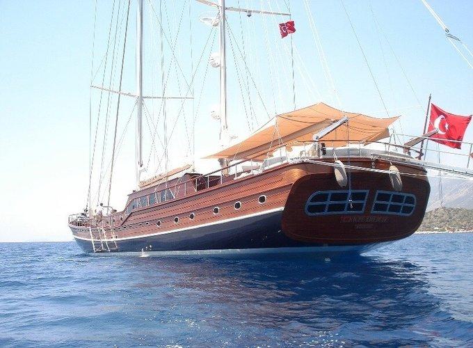 Custom's 154.19 feet in Bodrum