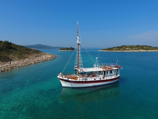 Have fun in sun onboard 46' Gulet in Zadar, croatia