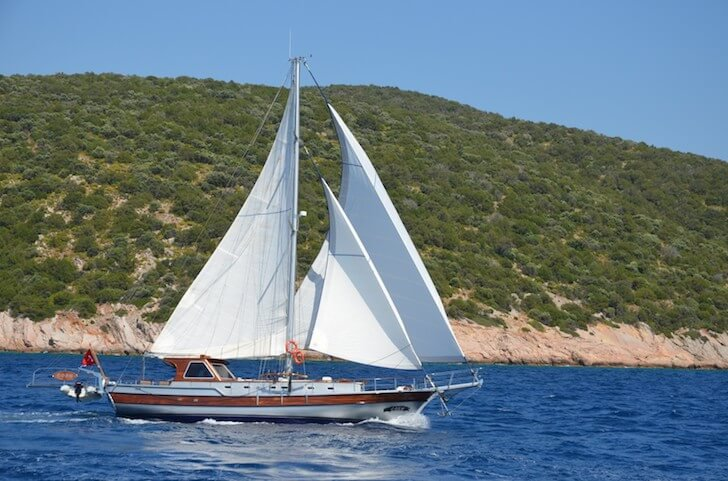 Have fun in Bodrum, Turkey onboard 59' classic sailing yacht