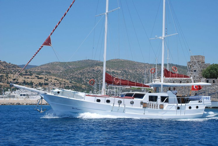 Celebrate this summer in Turkey aboard luxurious 66' gulet