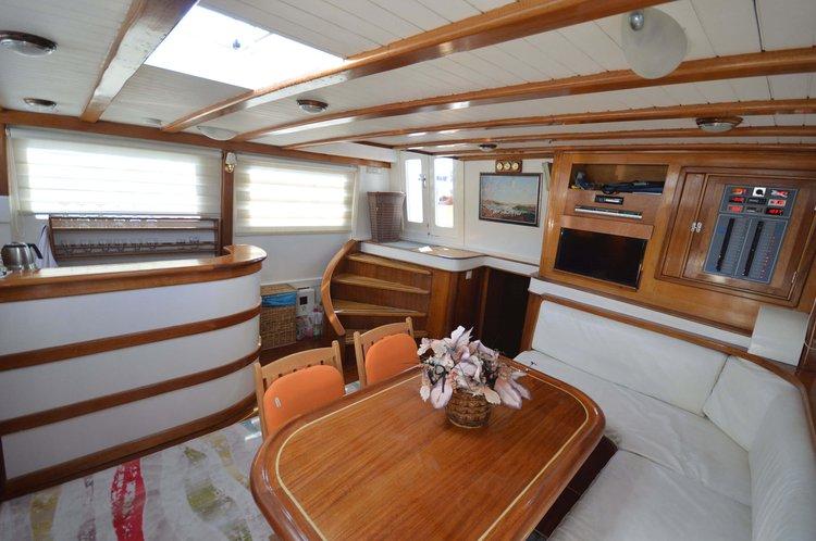 Classic boat rental in Bodrum,