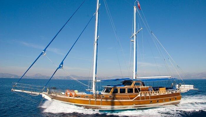 Set sail in Fethiye, Turkey aboard 66' classic sailing yacht