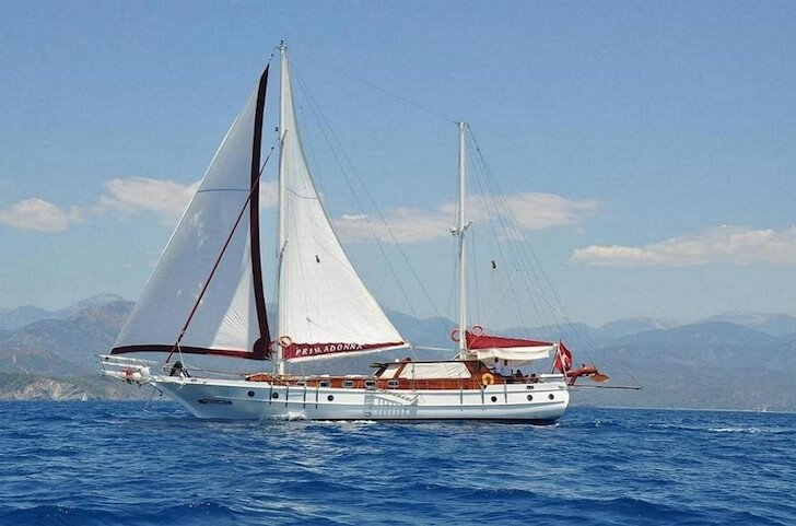Custom's 72.17 feet in Bodrum