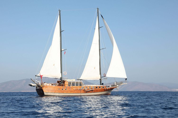 Indulge in luxury in Bodrum, Turkey aboard 72' gulet
