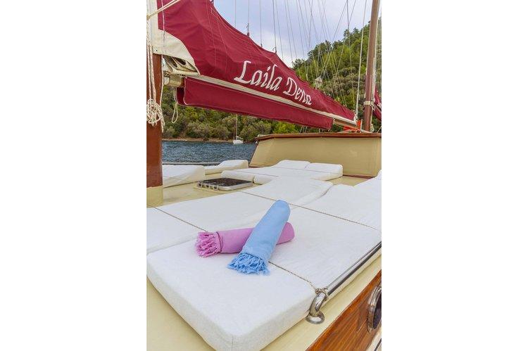 Discover Marmaris surroundings on this Custom Custom boat