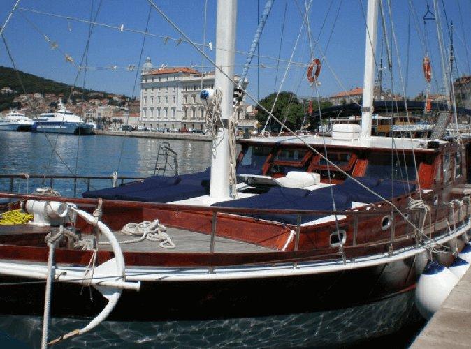 Custom's 72.17 feet in Trogir