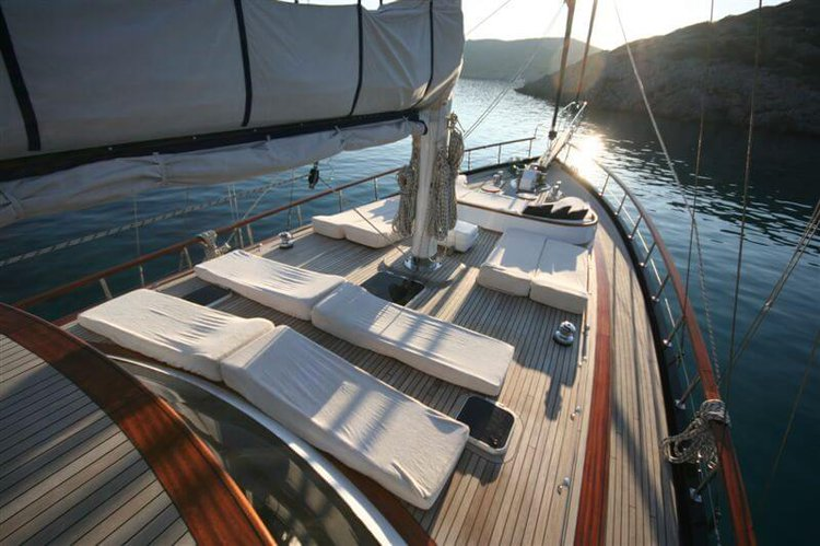 Custom's 78.74 feet in Bodrum