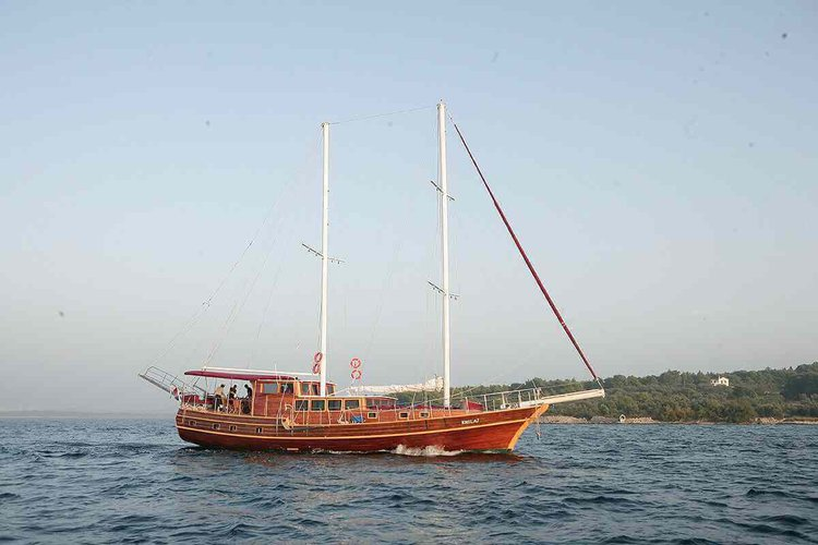 Set sail in Dubrovnik, Croatia onboard 79' classic sailing yacht