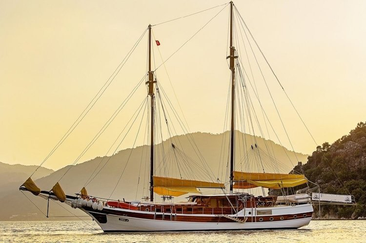 Explore Bodrum, Turkey aboard 82' classic sailing yacht