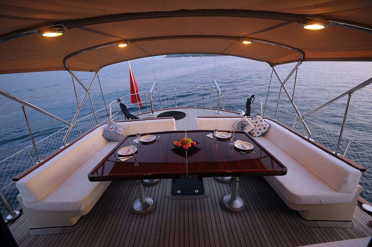Discover Gocek surroundings on this Custom Custom boat