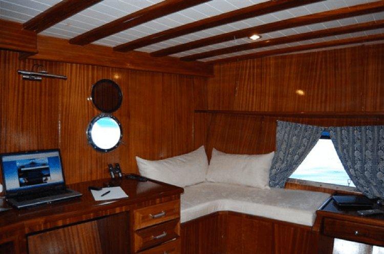 Classic boat rental in Gocek,