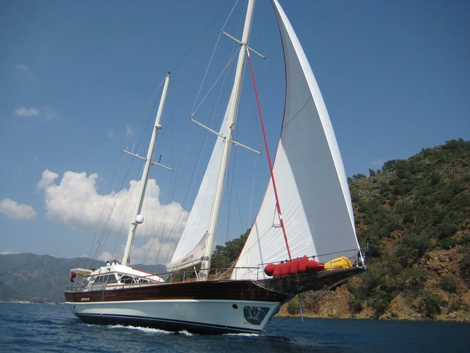 Custom's 85.3 feet in Gocek
