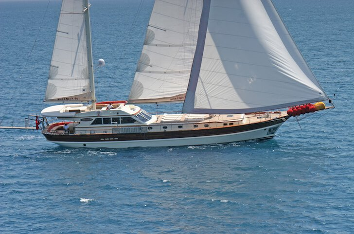 Indulge in luxury in Gocek, Turkey aboard 85' classic sailing yacht