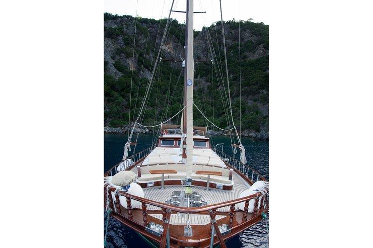Classic boat rental in Marmaris, Turkey