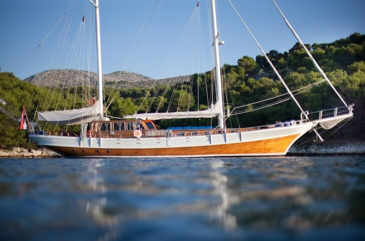 Set sail in Dubrovnik, Croatia onboard 92' classic sailing yacht