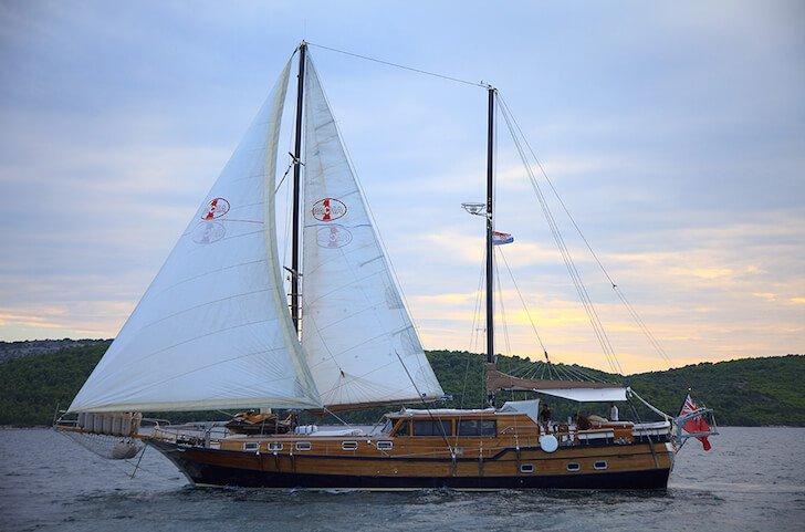 Set sail in Sibenik, Croatia onboard 92' traditional sailing yacht
