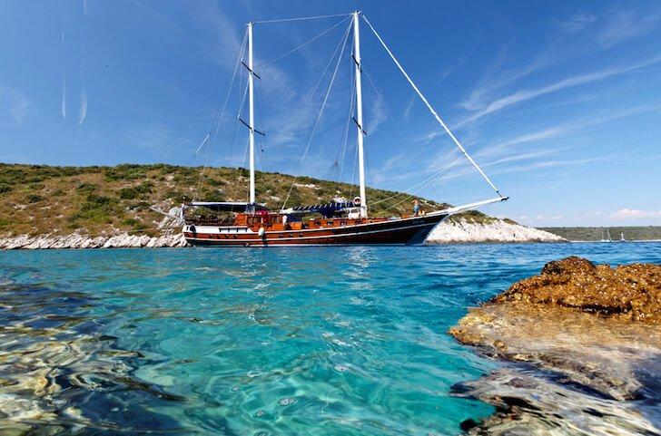 Set sail in Sibenik, Croatia onboard 92' classic sailing yacht