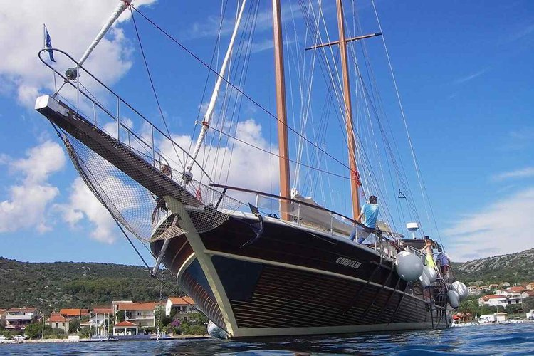 Custom's 91.86 feet in Trogir
