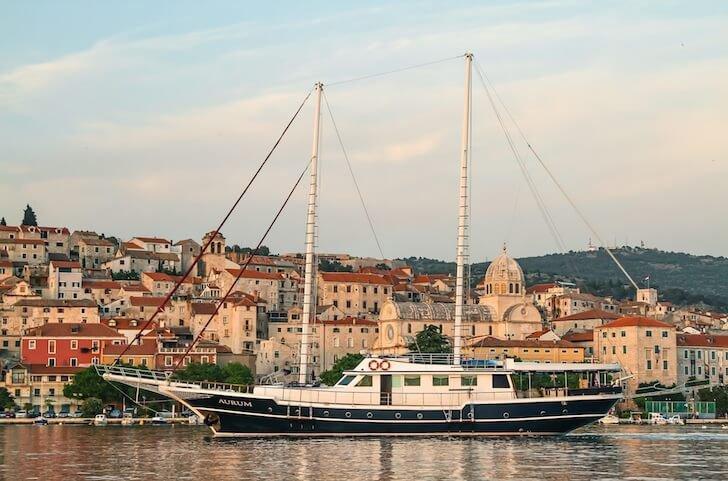 Set sail in 95' classic sailing yacht in Split, Croatia