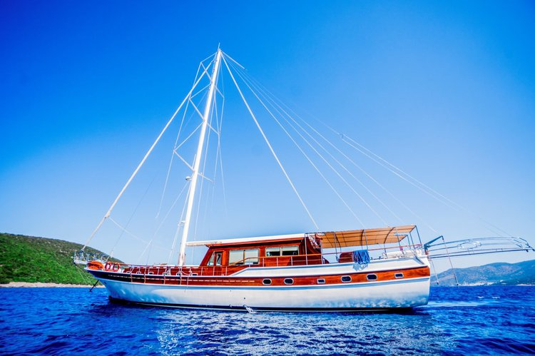 Enjoy cruising in Bodrum, Turkey aboard 98' classic sailing yacht