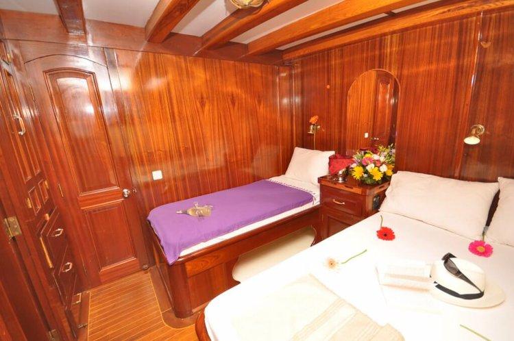 Classic boat rental in Bodrum, Turkey