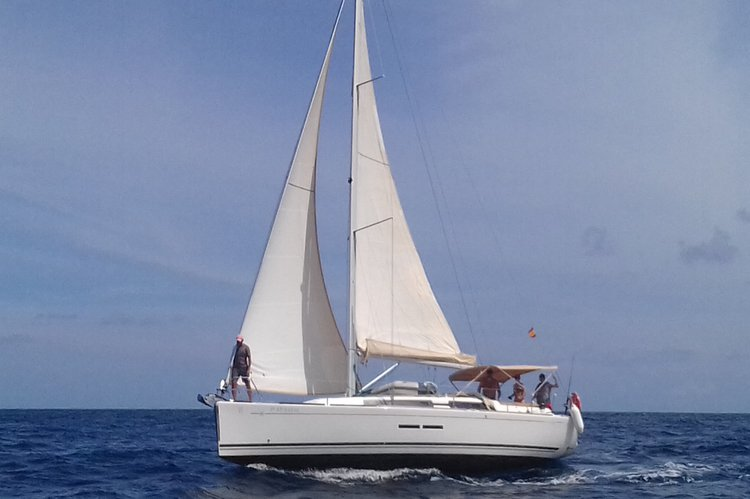 Balearic Islands in a Dufour 375 with Captain