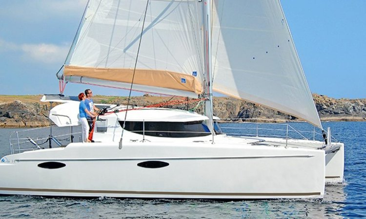 Discover Annapolis, Maryland onboard 36' cruising catamaran