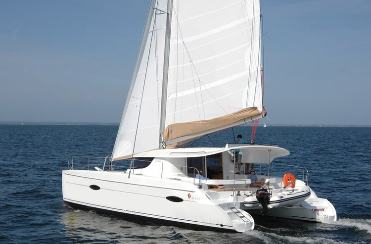 Explore Annapolis, Maryland onboard 40' Fountaine Pajot Lipari