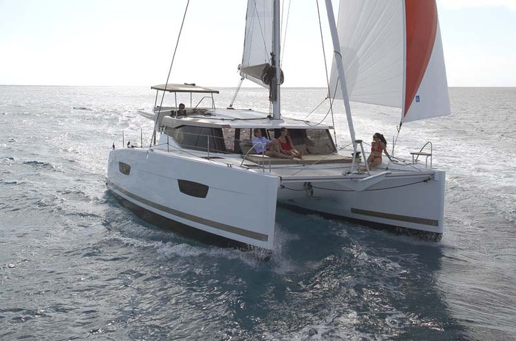 Indulge in luxury in Annapolis, Maryland onboard 40' cruising catamaran