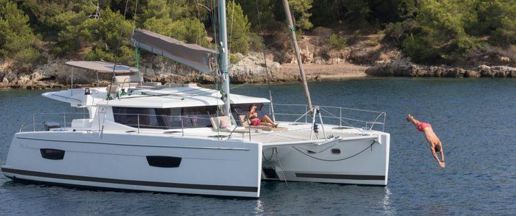 Rent a 44' Cruising Catamaran in Annapolis, Maryland