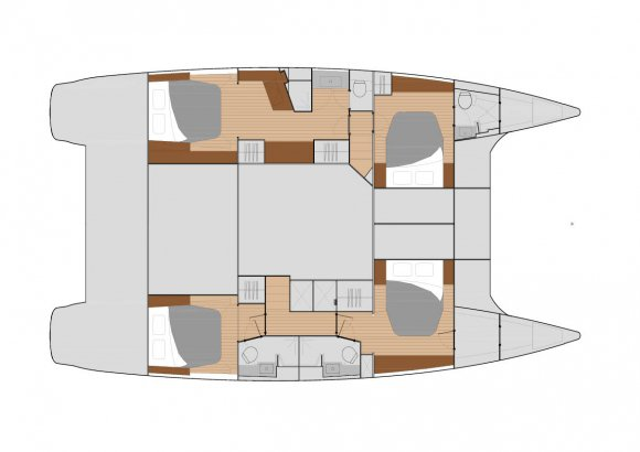 This 49.0' Fountaine Pajot cand take up to 10 passengers around Annapolis