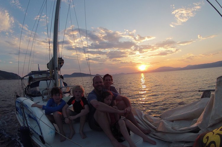 Classic boat rental in Athens, Greece