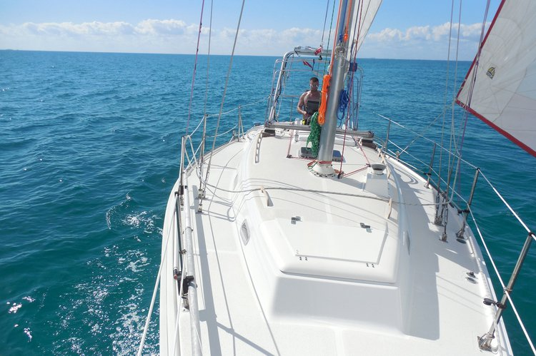 Cruiser racer boat rental in Key Biscayne,  Florida, FL