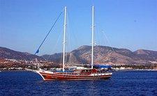 Climb aboard 102' classic sailing yacht in Bodrum, Turkey