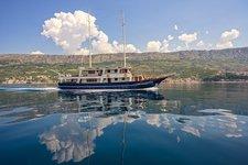 Enjoy Trogir, Croatia onboard 102' classic sailing yacht