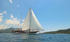 Charter a 105' classic sailing yacht in Marmaris, Turkey