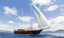 Cruise in style in Bodrum, Turkey aboard 108' classic sailing yacht