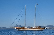 Enjoy sailing in Fethiye, Turkey aboard 112' classic sailing yacht