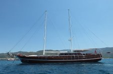 Charter a 112' classic sailing yacht in Marmaris, Turkey