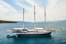 Charter a 112' classic sailing yacht in Split, Croatia