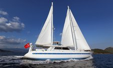 Experience pure luxury & comfort in Gocek, Turkey aboard 115' gulet