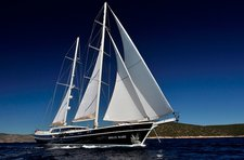 Set sail in Bodrum, Turkey aboard 118' classic sailing yacht