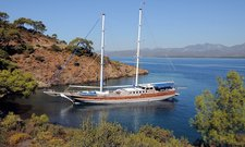 Charter a 121' classic sailing yacht in Gocek, Turkey